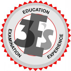 Education Experience Examination seal of experts