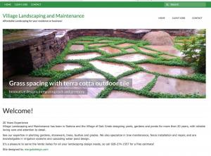 Village Landscaping & Maintenance website